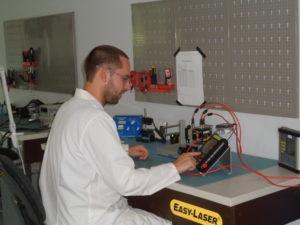 calibrage des systèmes Easy-Laser
