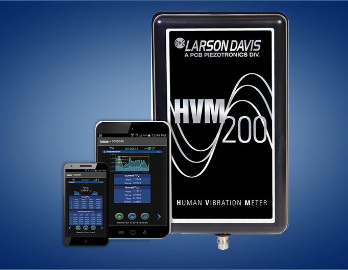 HVM 200 : Mesures de vibrations au poste de travail